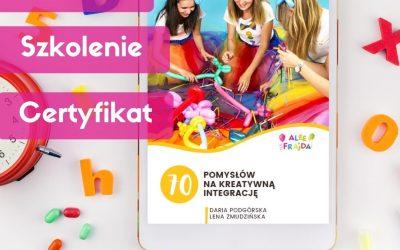 Kreatywna Integracja: E-book + certyfikat